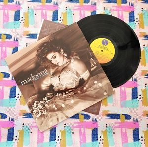 Vintage 1984 Madonna Like A Virgin Vinyl Record